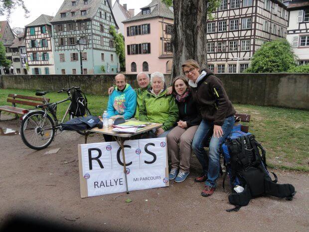 Belle réussite du rallye touristique pédestre du 8 Mai 2017 dans Strasbourg.