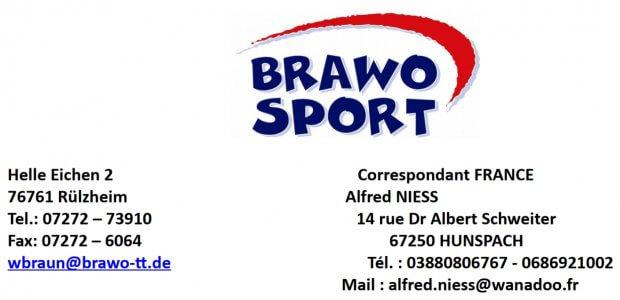 Promo rentrée BRAWO 2020-2021