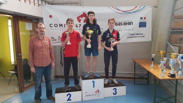 Photos du championnat départemental du Bas-Rhin  des 30 et 31 Mars à Jean-Nicolas MULLER
