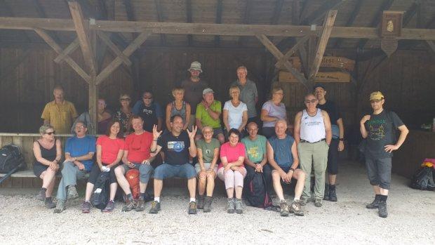 La rando du club le dimanche 7 Juillet 2019 à Oberkirch était une belle réussite.