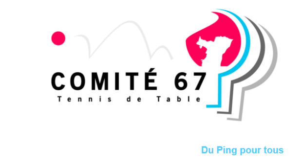 Comité  67 Tennis de Table 2020-2021