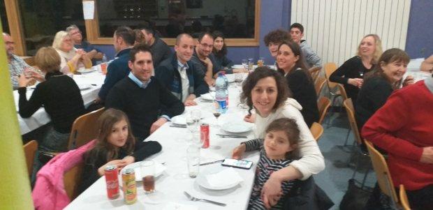 Très beau succès du repas de début d'année le 11 Janvier 2020 à Jean-Nicolas MULLER.