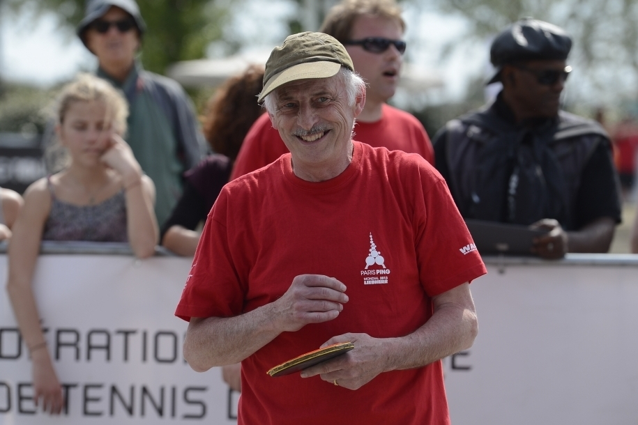 Disparition d´une légende du tennis de table français: Jacques Secrétin