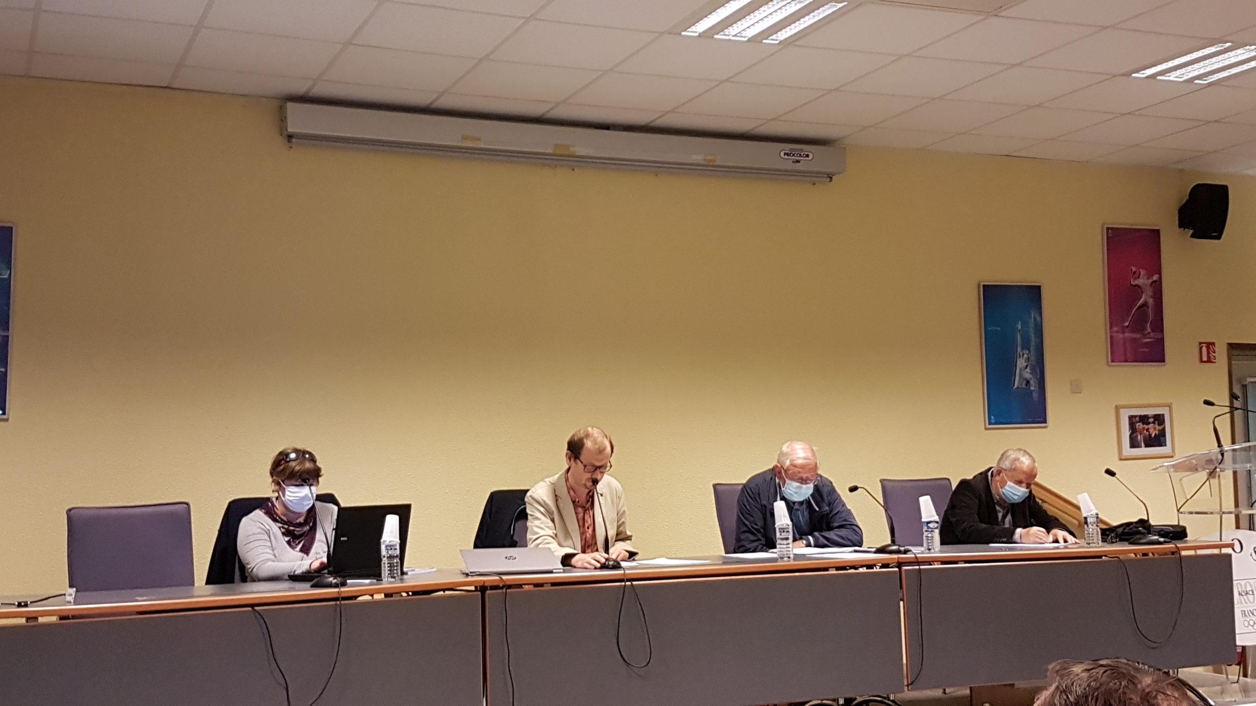 Rapport de l'assemblée générale du comité 67 de TT du 1 Octobre 2021.